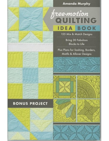 """Free-Motion Quilting Idea Book""..."