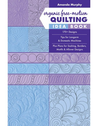 """Organic Free Motion Quilting Idea..."