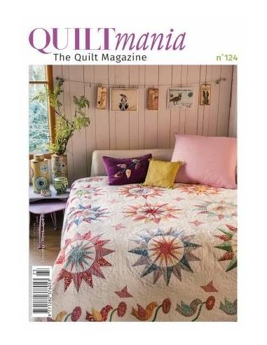 """Magazyn """"Quiltmania"""" nr 124 marzec/kwiecień 2018"""