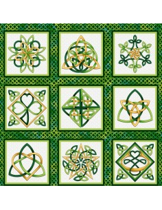 Emerald Celtic Knot Blocks...