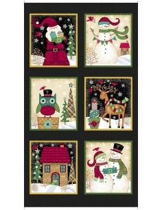 Panel Black Christmas