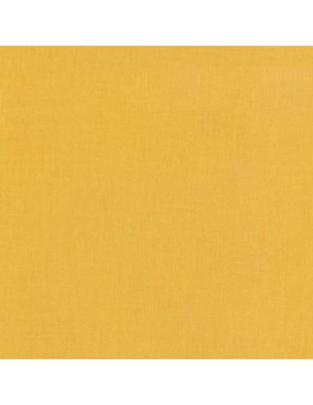 Tkanina bawełniana Kona Curry żółta