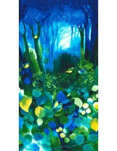 Panel bawełniany Deep Forest