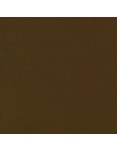 Tkanina bawełniana Kona Chestnut ciemnobrązowa