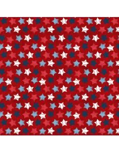 Tkanina bawełniana Red...