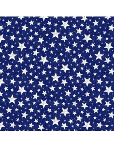 Blue Allover Stars...