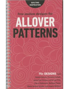 """Free Motion Designs for Allover Patterns"" book Lindsay Connor"