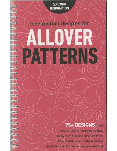 """Książka """"Free Motion Designs for Allover Patterns"""" Lindsay Connor"""