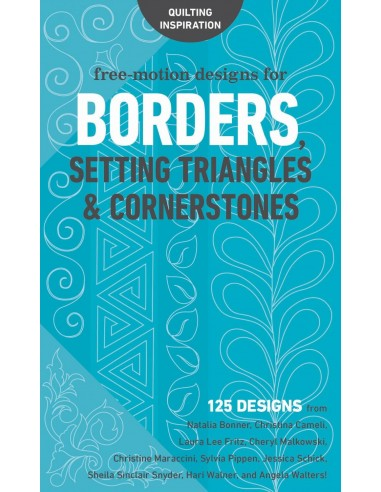 "Książka ""Free Motion Designs for Borders Setting"" Lindsay Connor"