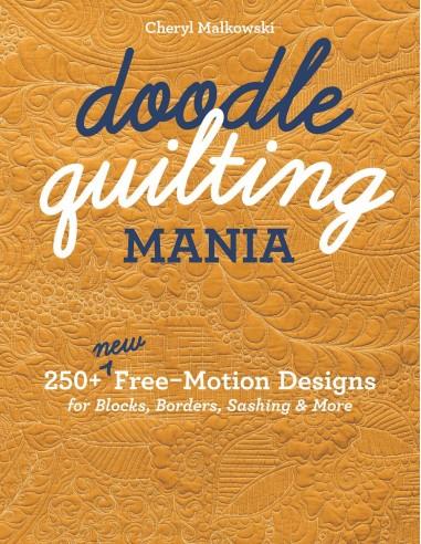 "Książka ""Doodle Quilting Mania""..."