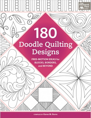 "Książka ""180 Doodle Quilting Designs""..."