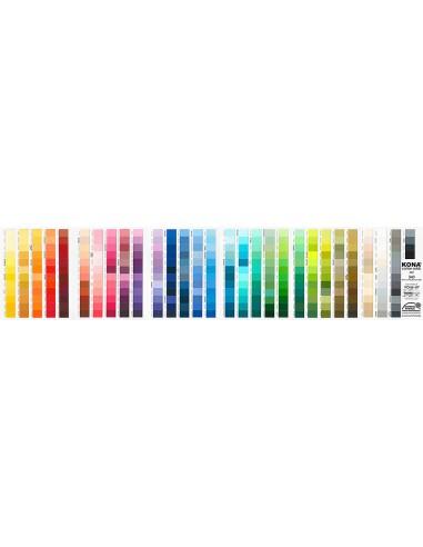Karta kolorów próbnik Kona Cotton