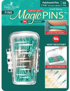 Magic Fine Pins Patchwork 50pc