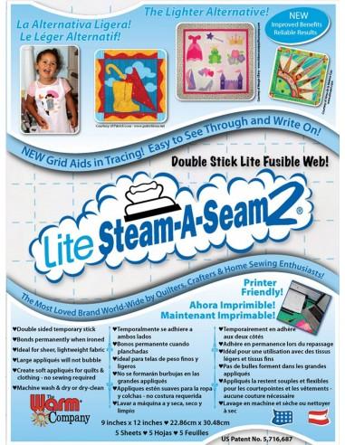 Steam A Seam 2 Lite 22 cm x 30 cm 5 szt.