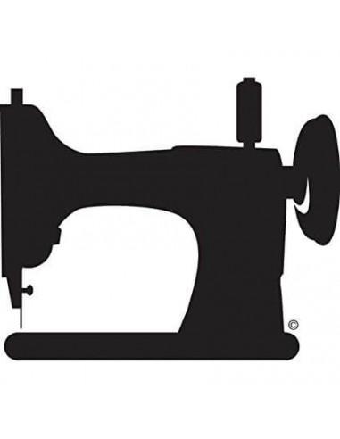 "Naklejka na samochód ""Vintage Sewing Machine"""