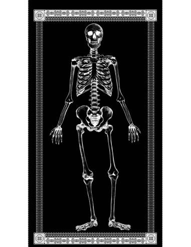 Panel bawełniany Black Skeleton...