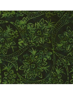 Forest Batik cotton fabric