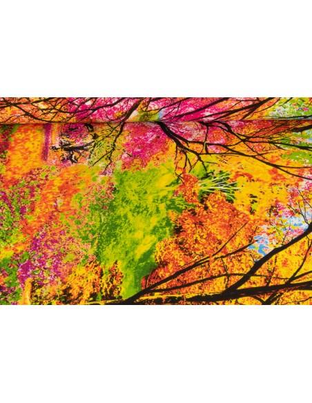 Panel bawełniany Electric Nature Trees