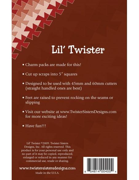 Linijka szablon Lil' Twister Pinwheel wiatraczki