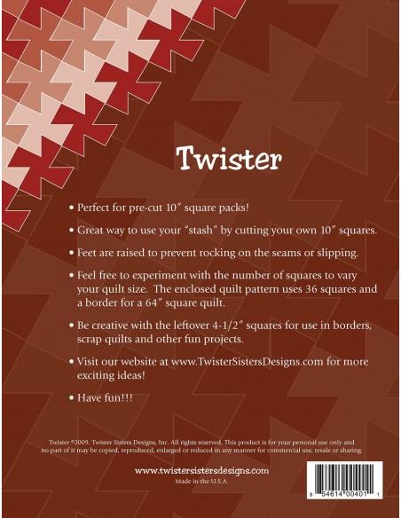 Linijka szablon Twister Pinwheel