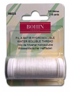 Water Soluble Thread White 220yd