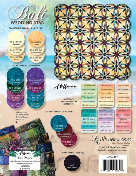 Wykrój Bali Wedding Star
