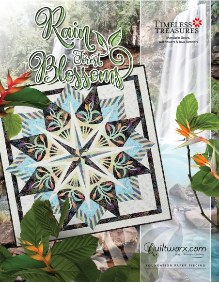 Wykrój Rain Forest Blossoms