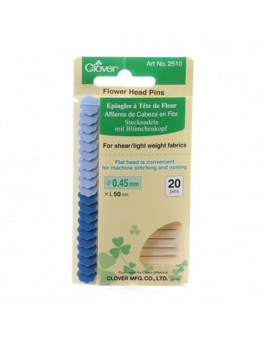 Flower Head Fine Pin Size 32 - 2in...