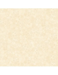 Cream Sparkles cotton fabric