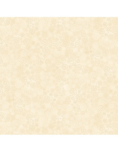 Cream Sparkles cotton fabric
