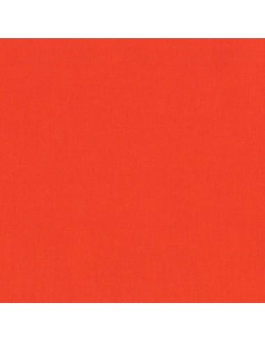 Tkanina bawełniana Kona Flame pomarańczowa