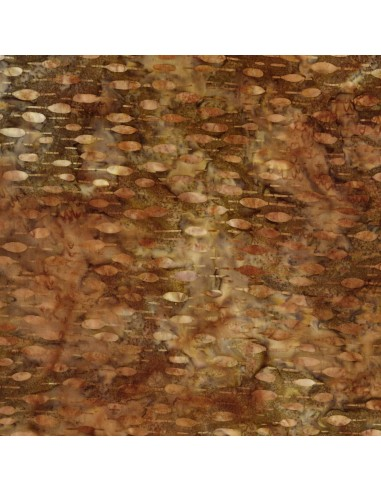 Earth Texture Batik cotton fabric