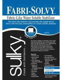 Sulky Fabri Solvy washaway...