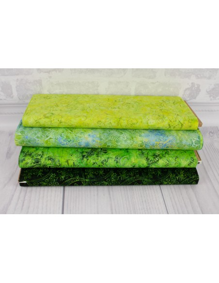 Tkanina bawełniana Spearmint Batik