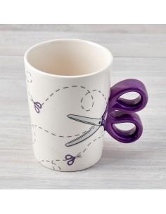 Sewing Scissor Mug