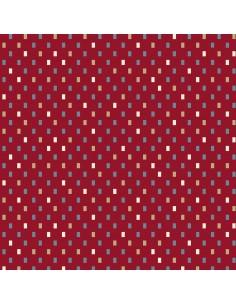 Tkanina bawełniana Red Tiny...