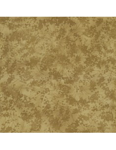 Taupe Tonal Floral cotton...