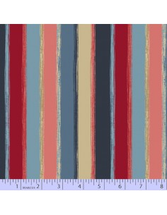 Color Bands cotton fabric
