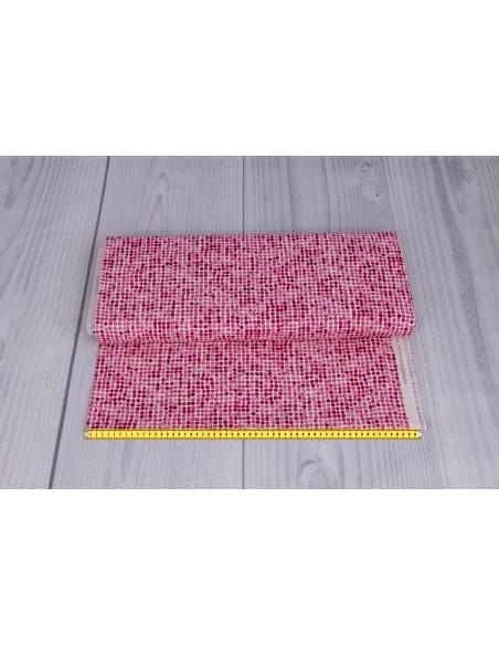 Tkanina bawełniana Pink Dot