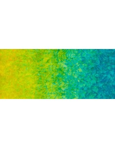 Caribbean Double Ombre Batik cotton fabric