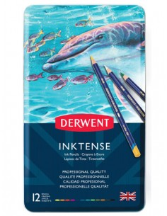 Pencil set Inktense 12 pcs