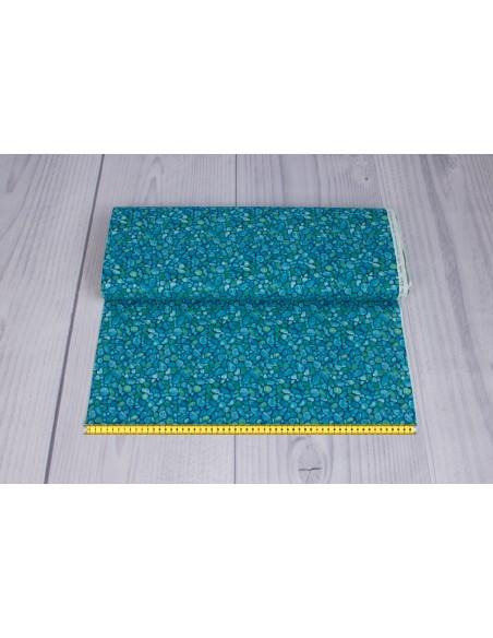 Kupon 20 x 110 cm tkanina bawełniana Blue Sea Glass