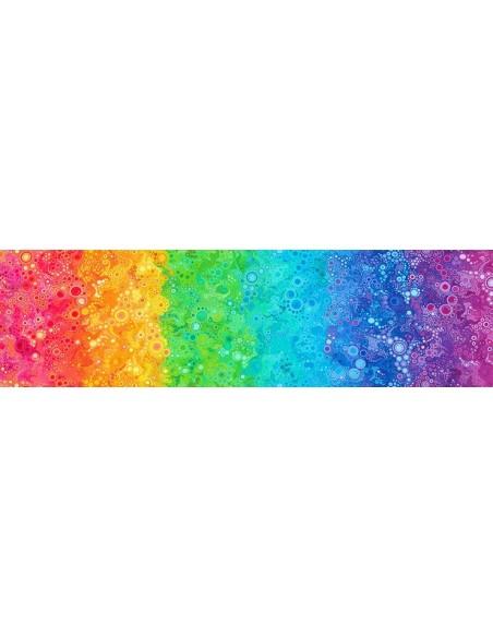 Tkanina bawełniana Rainbow Gradation