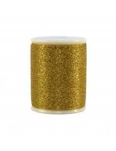 Razzle Dazzle Polyester Metallic Thread 8wt 110yds Gold Nugget