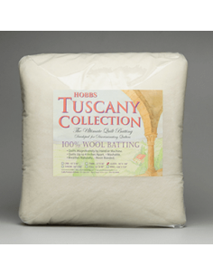 Batting Tuscany 100% Washable Wool 45in x 60in Crib