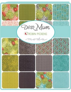 Mini charm pack Dear Mum