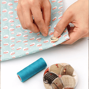 Embroidery and hand sewing