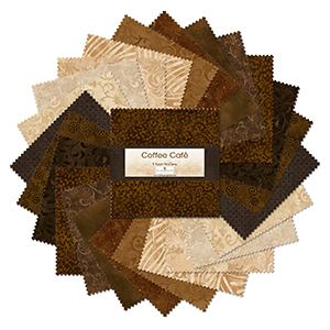 tkaniny brązowe