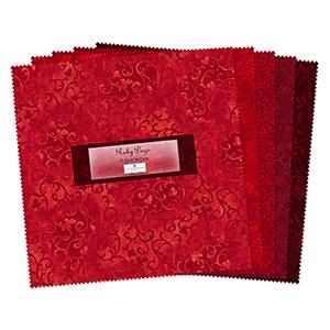tkaniny czerwone