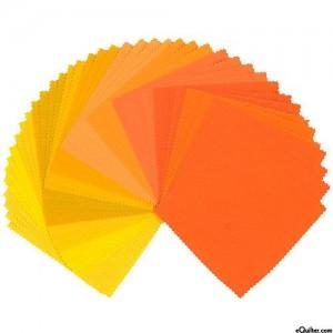 tkaniny pomarańczowe